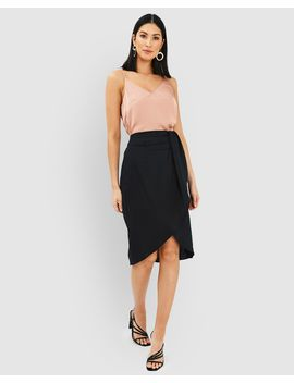 Kylie Crossover Skirt by Forcast