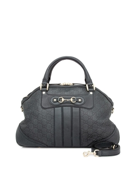 Pre Owned Gucci Guccissima Top Handle Bag by Gucci