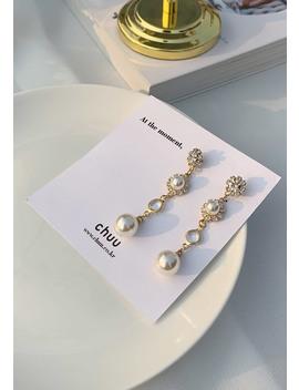 [Chuu] Four Drop Pearl Earring by Chuu