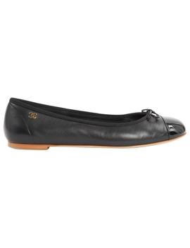 Leather Ballet Flats by Chanel