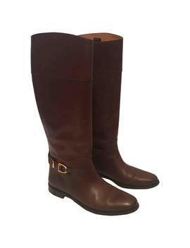 Leather Riding Boots by Ralph Lauren