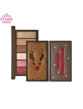 Etude House Rudolph, Coming To Town Play Color Eyes Mini 6g [2019 Holiday Collection] by Etude House