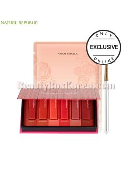 Nature Republic Kiss My Mini Lipstick Kit Set 3items [Online Excl.] by Nature Republic