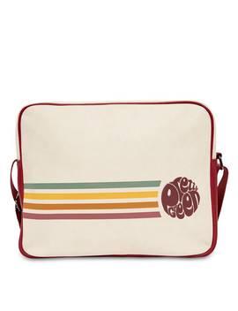 Stripe Detail Record Bag by Pretty Green