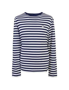 Long Sleeve Striped T Shirt by Pretty Green