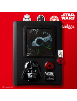 Star Wars First Order Lenticular Lockable A5 Journal by Smiggle