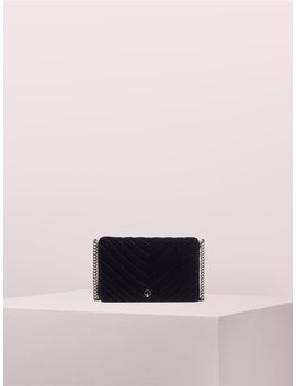 Amelia Velvet Chain Wallet by Kate Spade