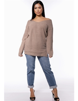 High Waisted Denim Jeans by Papaya