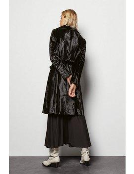 Faux Fur Wrap Coat Faux Fur Wrap Coat by Karen Millen