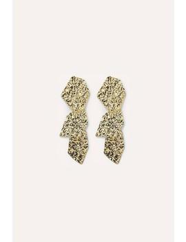 Rocking It   Gold by Loavies Gold Earrings