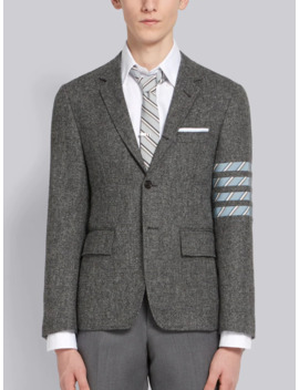 4 Bar Donegal Tweed Sport Coat by Thom Browne