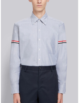 Grosgrain Armband Oxford Shirt by Thom Browne