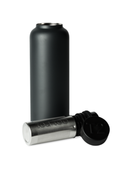T2 Stainless Steel Flask Black by T2 Tea