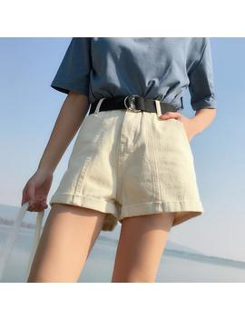 """""""Roll Up"""" Denim Shorts by Aesthentials"""