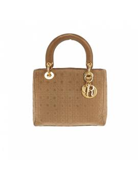 Lady Dior Cloth Handbag by Dior