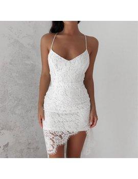 Milan Lace Dress   White by Love Loren