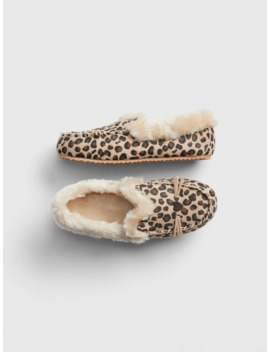 Kids Leopard Slippers by Gap