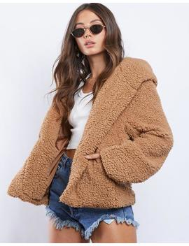 Anastasia Fluffy Coat by 2020 Ave