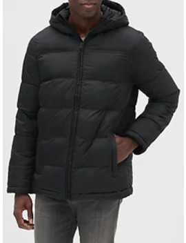 Lightweight Hooded Puffer Jacket by Gap