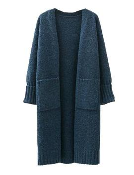 'ashley' Pocket Front Long Cardigan (4 Colors) by Goodnight Macaroon