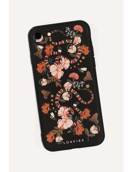 Black Snake by Loavies I Phone Case