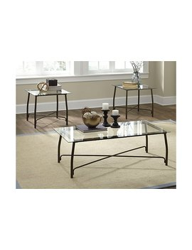 Burmesque Table (Set Of 3) by Ashley Homestore