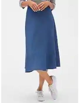 Midi Skirt In Tencel™ by Gap