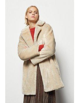 Tailored Faux Fur Coat Tailored Faux Fur Coat by Karen Millen