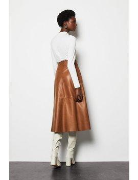 Leather Tie Waist Midi Skirt Leather Tie Waist Midi Skirt by Karen Millen