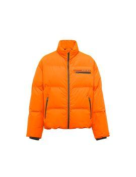 Lr Hx015 Nylon Puffer Jacket by Prada