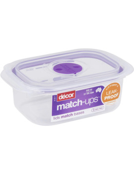 Decor Match Ups Storer Oblong 500ml by Decor