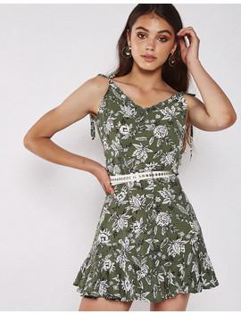 Honey Dew Dress In Green by Popcherry