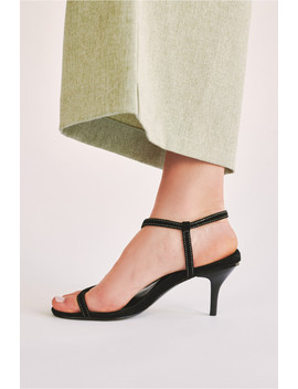 Strappy Suede Sandal by Bnkr