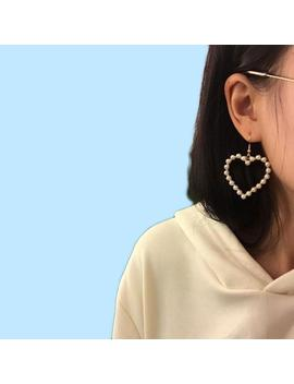"""""""Pearly Love"""" Earrings by Aesthentials"""