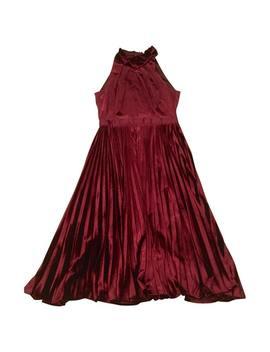 Velvet Mid Length Dress by Ted Baker