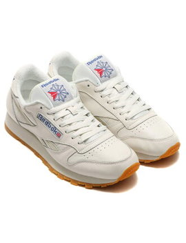Reebok Cl Lthr Vintage (Reebok Classical Music Leather Vintage) Chalk/Paperwhite/Collegiate Royal/Excllnt Red 16 Ss S by Rakuten Global Market