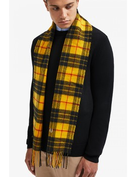 Macleod Tartan Scarf by Fred Perry