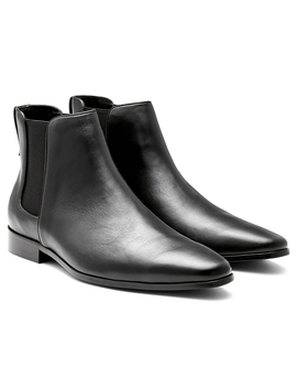 Aq By Aquila Men's Collman Chelsea Leather Boot   Black by Aquila