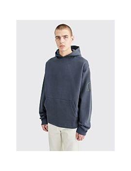 Affix Chemical Hooded Sweatshirt Dark Grey by Très Bien