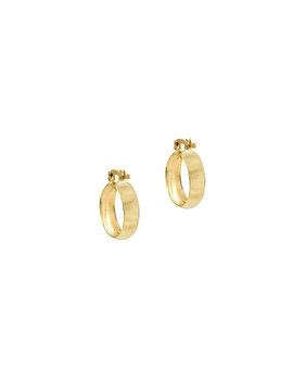 The Lille Hoop Earrings by The M Jewelers Ny