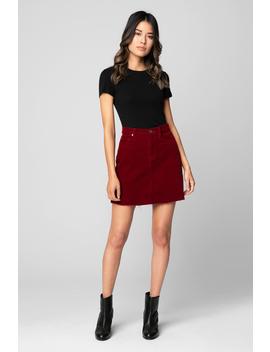 Cherry Pop Skirt by Blank Nyc