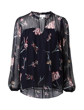 Print Peasant Blouse by Witchery