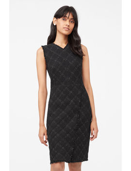Tailored Textured Tweed Dress by Rebecca Taylor