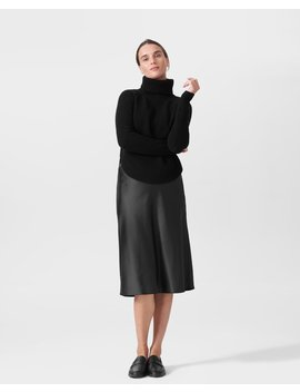 Nicole Cashmere Blend Turtleneck Sweater by Universal Standard