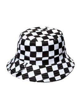 Checker Bucket Hat by Boogzel Apparel