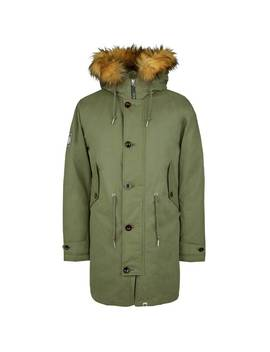 Padded Hooded Parka by Pretty Green