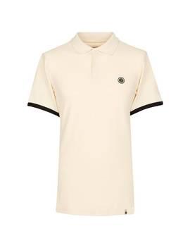 Shoulder Stripe Polo Shirt by Pretty Green