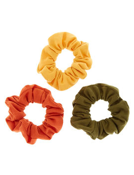 Safari Mix Hair Scrunchies   3 Pack by Claire's