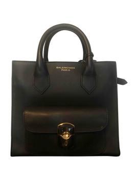 Le Dix Leather Handbag by Balenciaga
