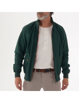 G9 Original Harrington British Race Green Jacket 01 Brwmow0001 Fbc01 by Baracuta